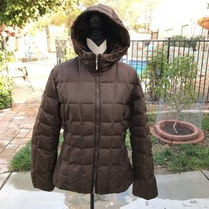 Post Card Quilted Puff Jacket